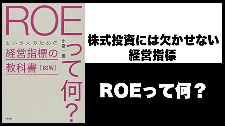ROEってなに?